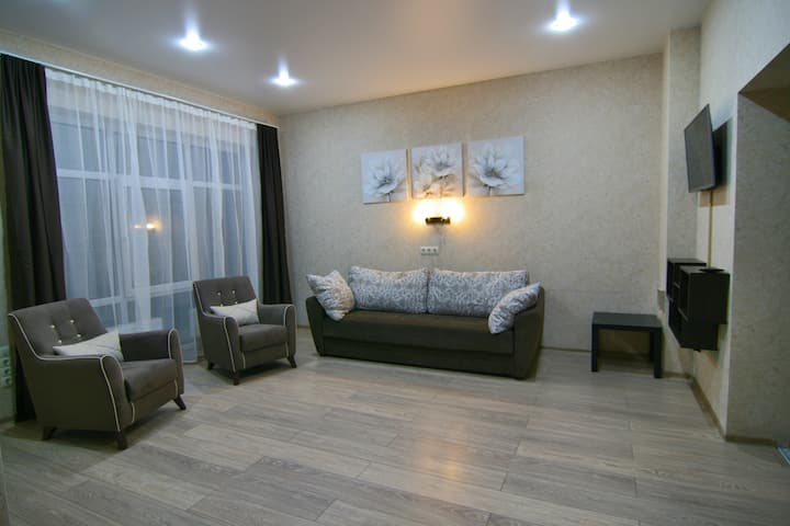 "Apartments ""Crocus"", 2 rooms, center of Sochi"