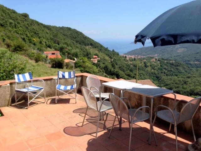 Marciana, Elba on the countryside