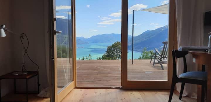 Lago&Monti, außergewöhnlicher Blick über den See