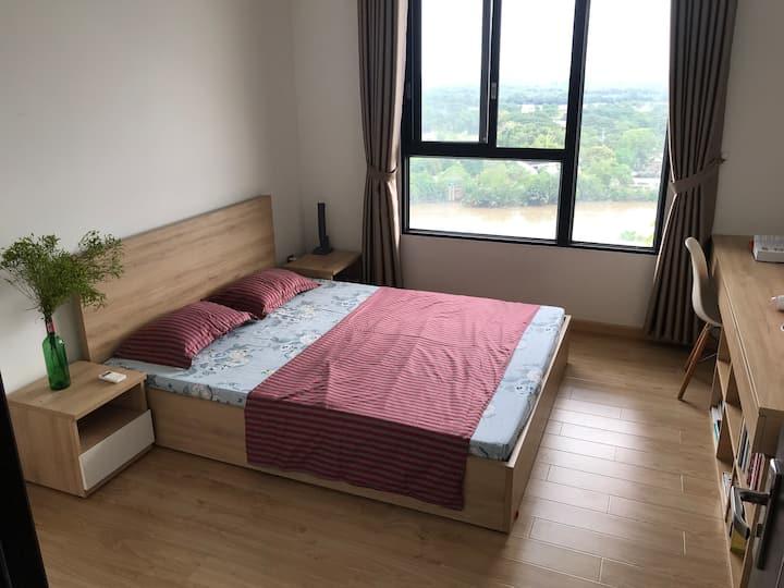 Phòng view Sông Phú Xuân thơ mộng và tầm nhìn xa