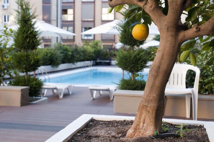 Apartamento con piscina en barrio Salamanca