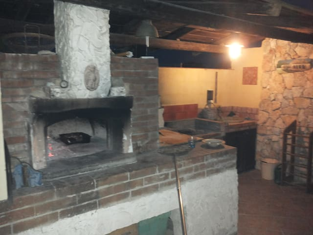 zona forno e barbecue