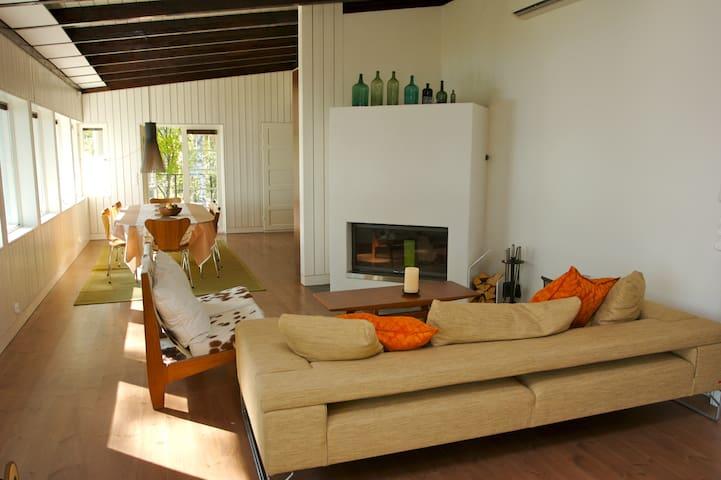 Two Design Villa´s on the lake - Ristiina - Villa