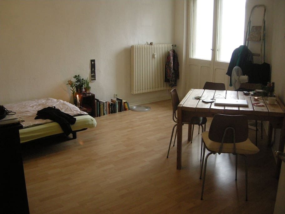 Shared living space.