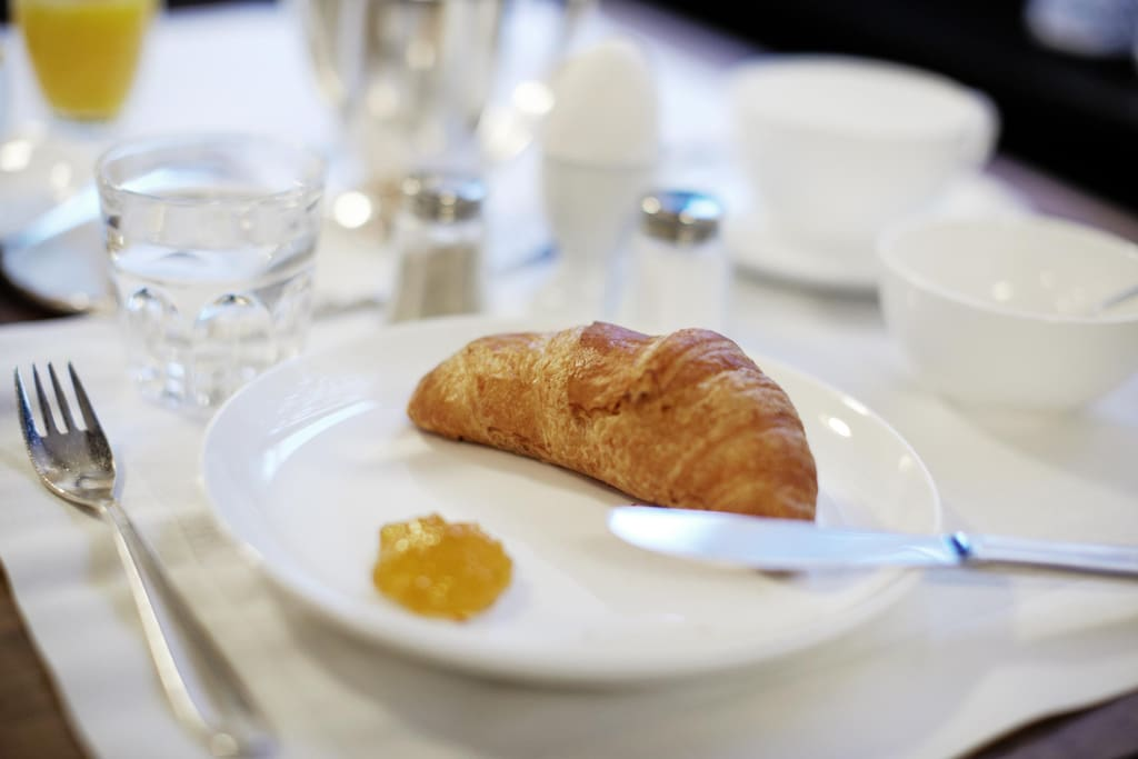Frühstück kann für CHF 16,- pro Person dazugebucht werden