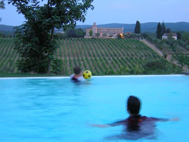 Un'angolo di paradiso - Ville di Corsano Monteroni d'arbia - อพาร์ทเมนท์