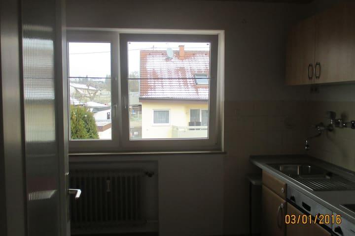 ruhige Wohnung Nähe Tübingen/Reutlingen/Stuttgart - Walddorfhäslach - Flat