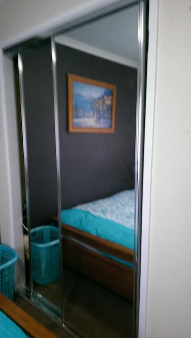 Room showing the wardrobe