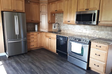 Modern 3 Bedroom Home(main level) Central location