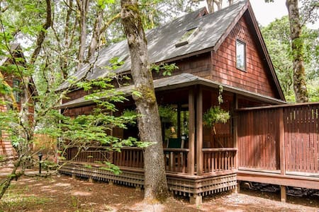 Feels like a forest cabin! - Eugene - Bungalo
