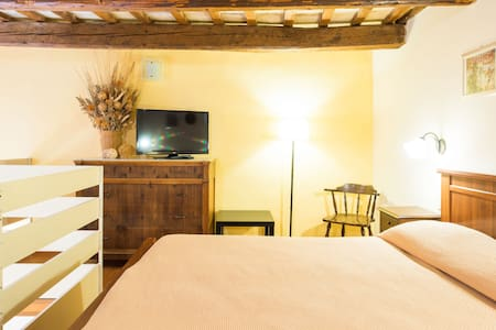 Loft 108 in the old town centre  of Macerata - Macerata - Loteng