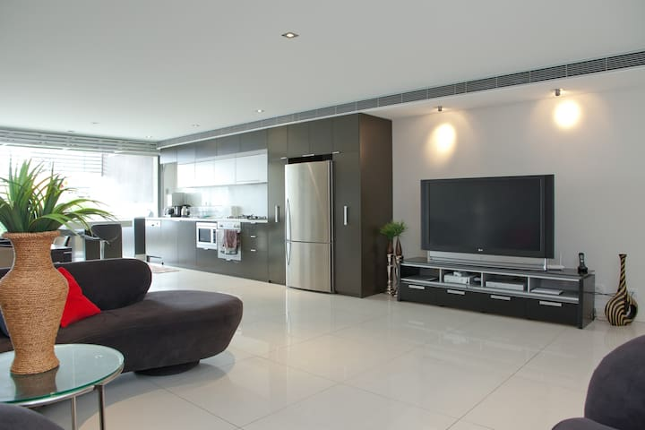 Ultramodern split level apartment! - Fortitude Valley - Daire