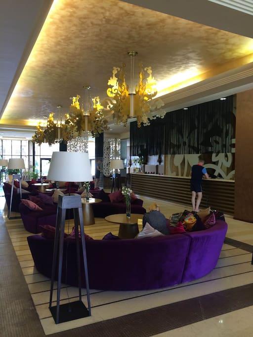 ресепшен отеля/Barcelo reception