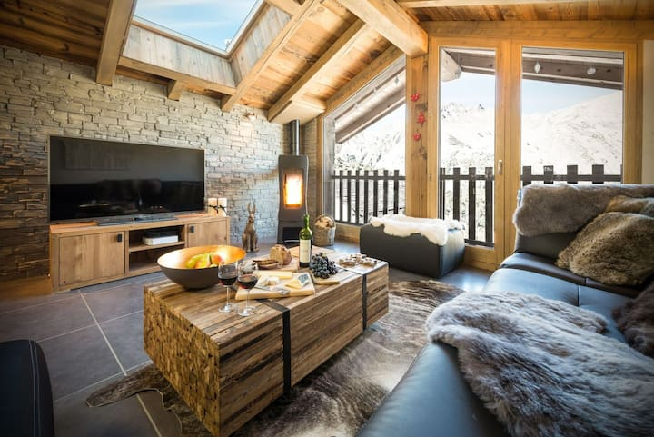 Luxury chalet**** with sauna, Three Valleys Resort