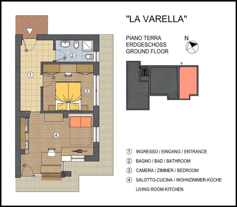 Map Lavarella -