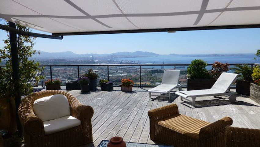Appartement Vue Mer Marseille - Marsella - Pis