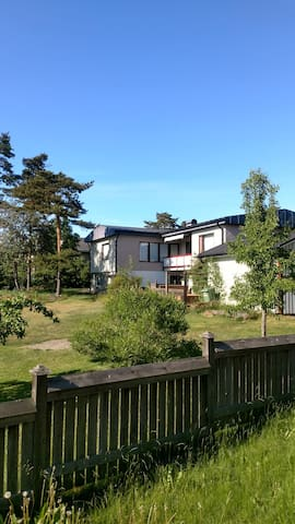 Stay in Godby at the centre of Åland.