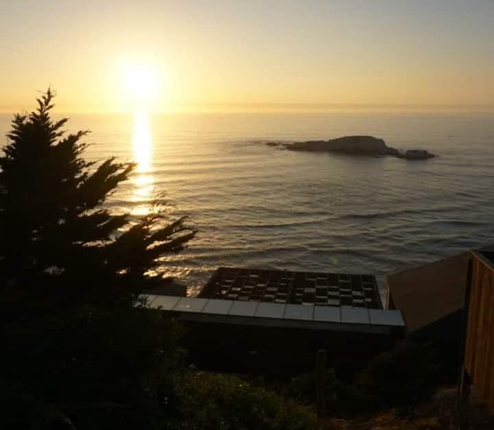 Loft rústico con espectacular vista al mar