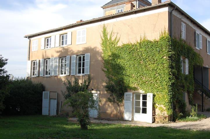 18th century vineyard mansion - Blacé - Bed & Breakfast
