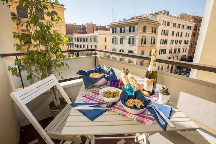 Bright Home in Rome, shadow of the Vatican - Roma - Apartment