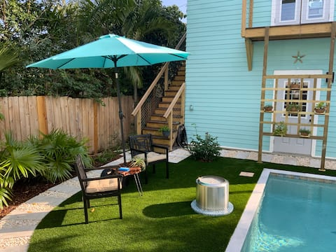 Key West Style Suite with Pool/Spa