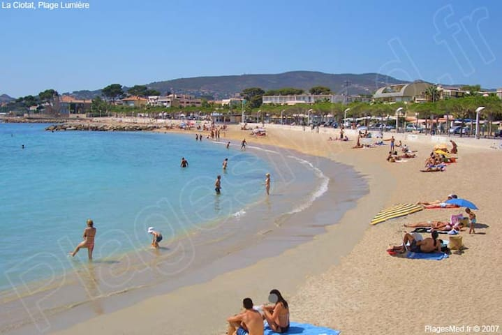 In front of the sea with 2 bedrooms - La Ciotat - Appartement