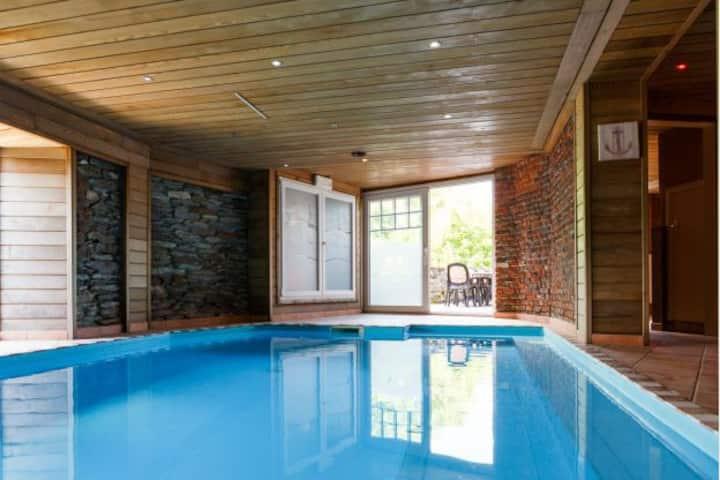 Villa Bellevue 10pers Wellness & Jardin