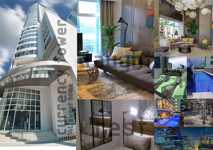 Cozy 1-Bedroom Unit in The Currency Tower Ortigas