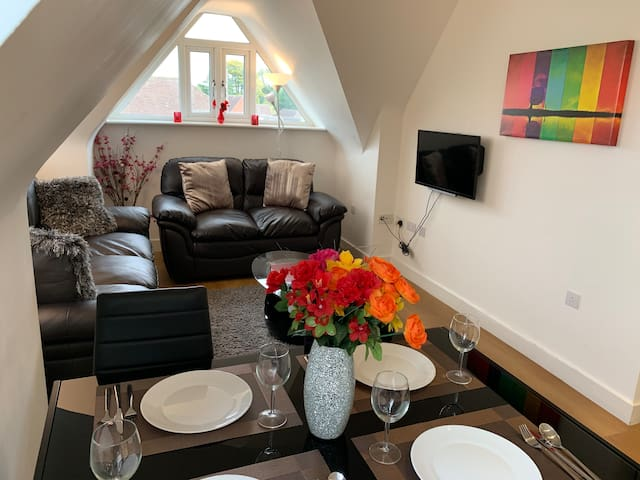 An ENTIRE stylish 2bed + TV&WiF - London Road