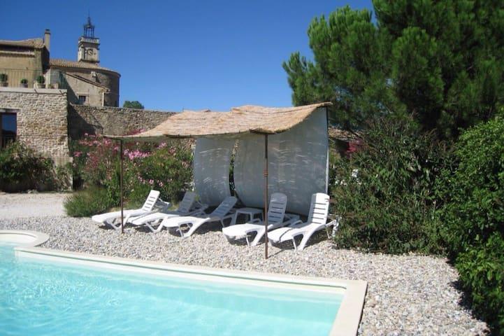 Mas de caractère, piscine privée, très calme,Uzes - Le Pin - Casa