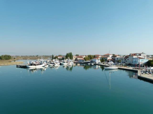 Apartment near the sea in Greece