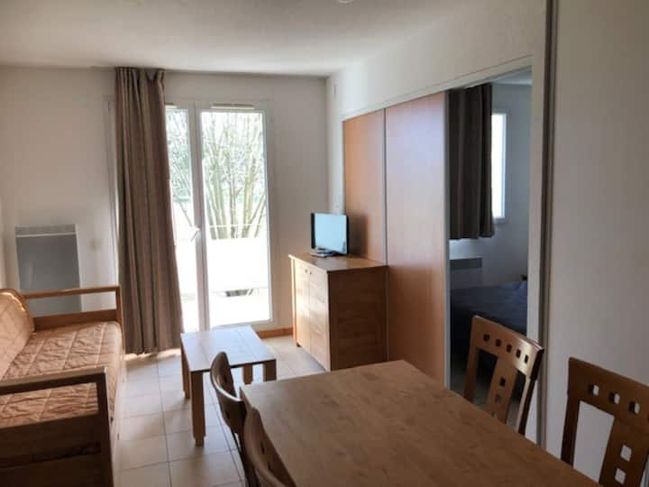 T2 Confort & Nature, en Alsace prox Suisse, Jura,