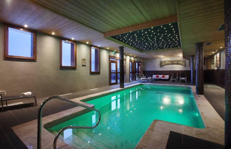 Appartement sympa et cosy avec balcon/terrasse | Accès direct aux pistes !