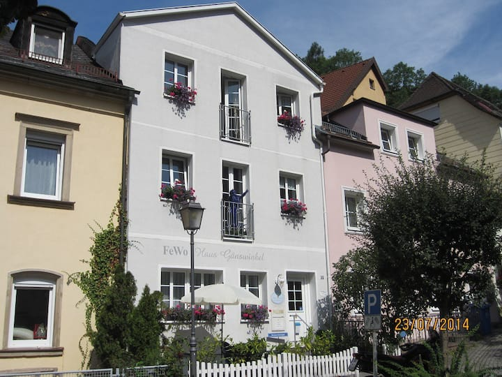 Haus Gänswinkel (Bad Berneck), Wohnung (40 qm) für 1-2 Pers. in der Nähe von Bayreuth