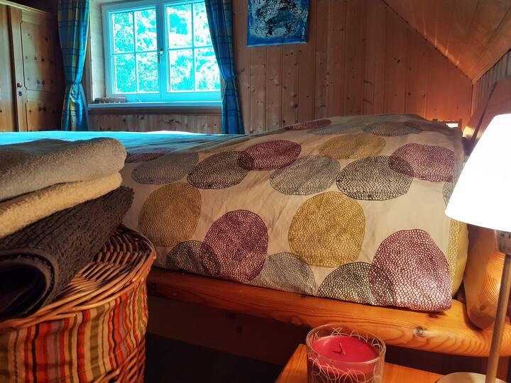 Zimmer im  Kletter-, Boulder- und Wanderparadies