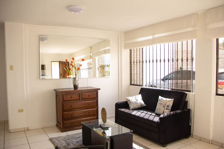 Nice apartment in Miraflores residential area