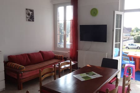 3 BEDROOM ROOMY and COMFORTABLE  FLAT &  BALCONY - Dives-sur-Mer - Appartement