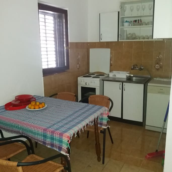 Kitchen with dinning space