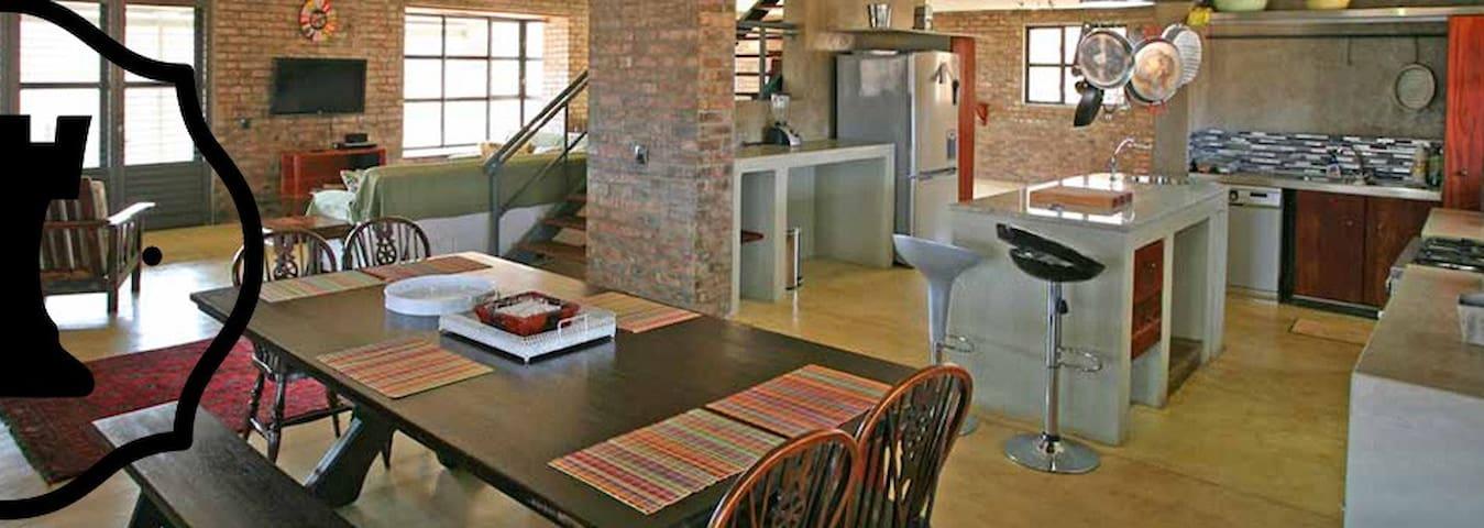 Comfortable open plan living area