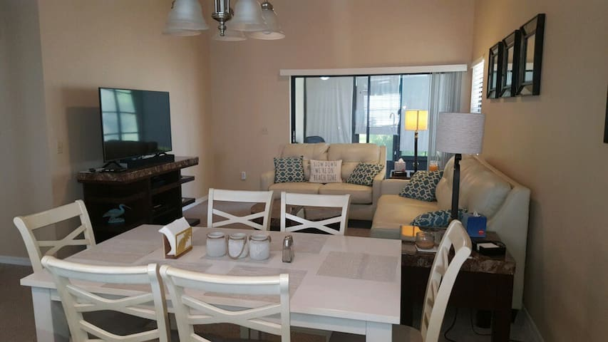 Newly remodeled family villa - all the amenities.