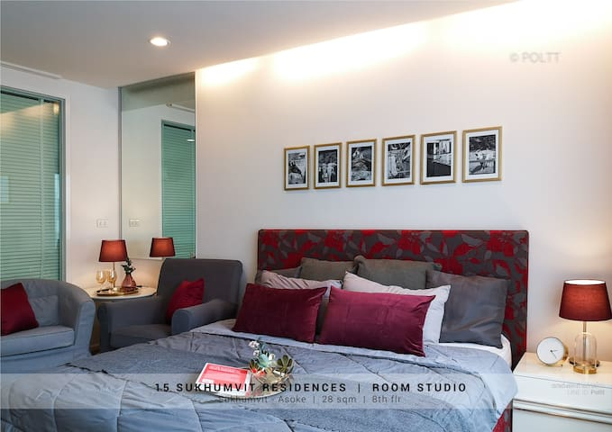 Room for rent in Sukhumvit Soi 15 near Terminal 21