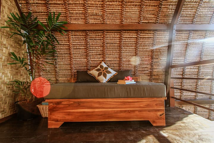 Day bed on the second floor