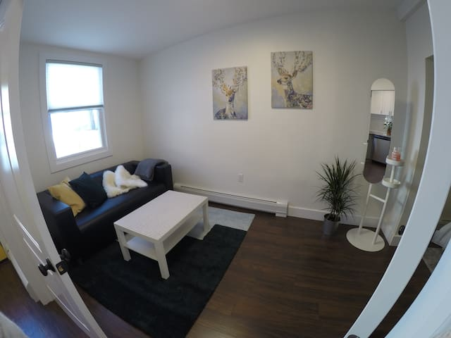 Brand new, bright, sunny, large room 20min to NYC