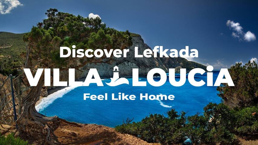 Villa Loucia in Kalamitsi Village, Lefkada Island