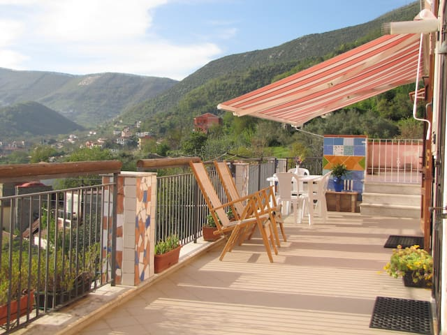 Tramontidamare, Rural Holiday Home on Amalfi Coast - Tramonti - 獨棟
