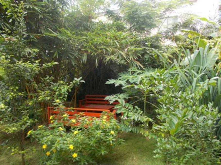Jardin et mobiliers de jardin