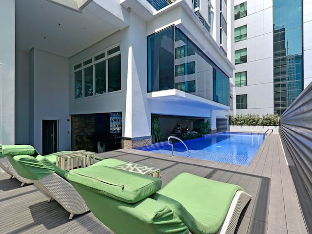Fully Furnished Studio Unit 1 at Currency Ortigas
