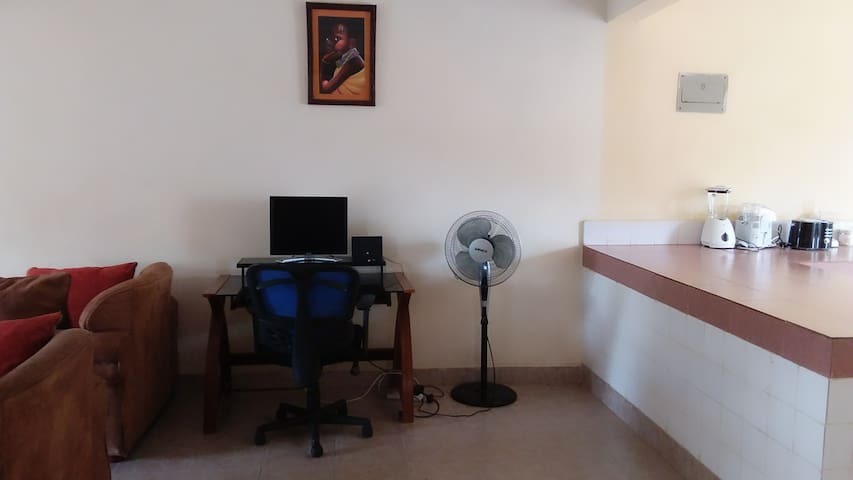 Have you travelled for work? No worries we have you covered with a well equipped working space