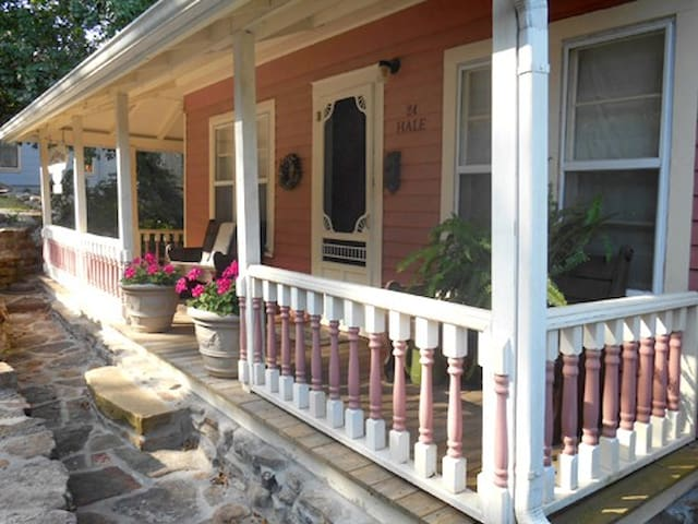 ~Native Stone and Wraparound Porch~