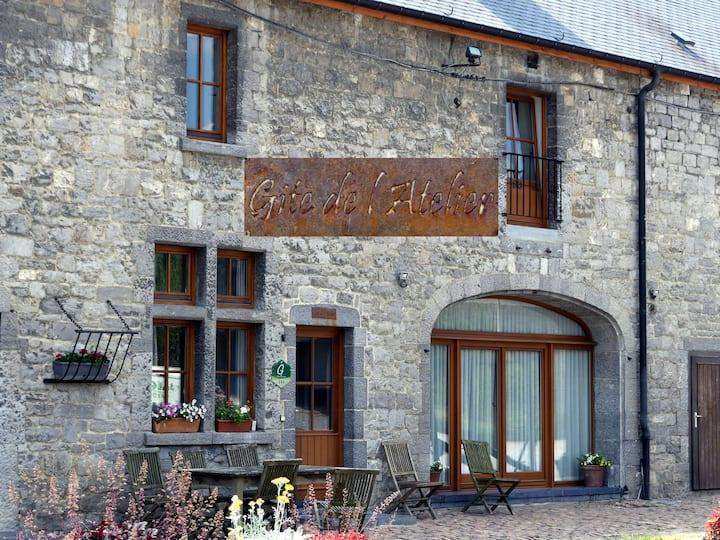 """Gîte de """"l'atelier"""" - Ferme Château Laneffe"""